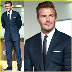 David Beckham Brings His New Whiskey Haig Club to China