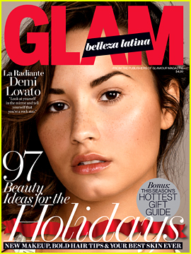 Demi Lovato Shows Off Her Freckles for 'Glam Belleza Latina'