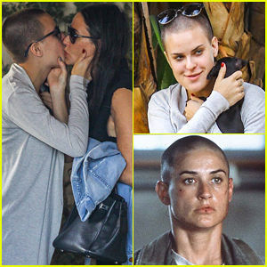 Demi Moore's Daughter Tallulah Shaves Her Head & Channels Her Mom's 'G.I. Jane' Look!