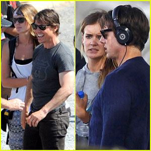 Does Tom Cruise Have a Crush on This 'M:I5' Set Assistant?