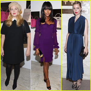 Drew Barrymore & Naomi Campbell Make It A Charity Night at Project Perpetual's Inaugural Auction!