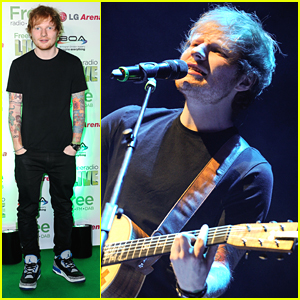 Ed Sheeran Plays Free Radio Live 2014 After Surprising Fan On 'Late Late Show'