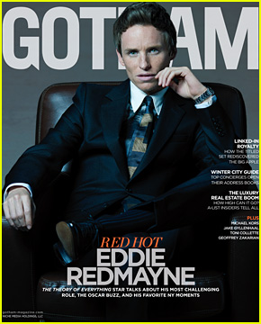 Eddie Redmayne Gets Interviewed by BFF Andrew Garfield for 'Gotham' Magazine Cover Story