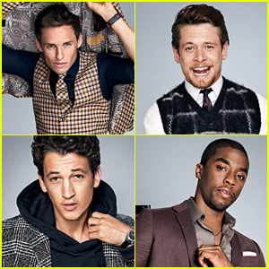 Eddie Redmayne, Jack O'Connell, & More Are GQ's Breakout Stars of 2014!