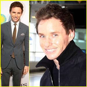Eddie Redmayne Brings 'The Theory of Everything' to the Nation's Capital