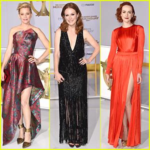 Elizabeth Banks & Julianne Moore Turn Heads at 'Hunger Games: Mockingjay' Los Angeles Premiere!