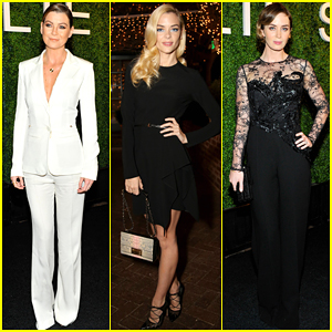 Ellen Pompeo & Jaime King Are Classic Beauties at Elie Saab Dinner