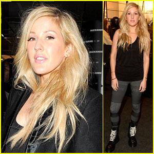 Ellie Goulding Has Some Fun After H&M x Alexander Wang Launch