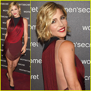 Elsa Pataky Stuns at Women's Secret 'Dark Seduction' Photo Call - Watch the Fashion Film Here!