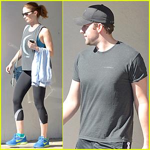 Emily Blunt & John Krasinski Break a Sweat Together in Los Angeles