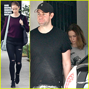 Emily Blunt's Husband John Krasinski Honors Heroes on Veteran's Day