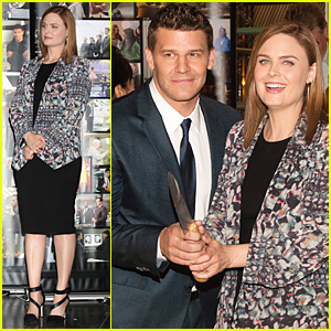 David Boreanaz And Emily Deschanel 2014 Emily Deschanel  amp David