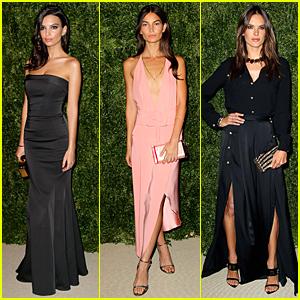 Emily Ratajkowski & Lily Aldridge Are Eye-Catching at CFDA/Vogue Fashion Fund Awards