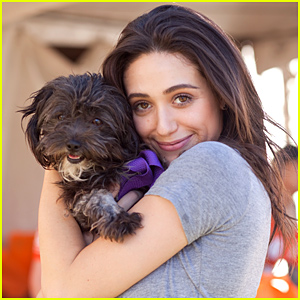 Emmy Rossum Adopted the Cutest Shelter Dog - See Their Pics!