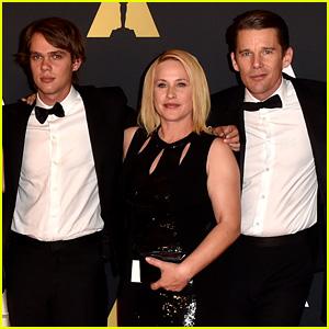 Ethan Hawke & 'Boyhood' Cast Hit Up Governors Awards 2014