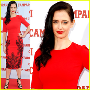Penny Dreadful's Eva Green Goes Red Hot for the Campari Calendar