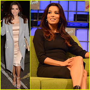 Eva Longoria Exposes 'Food Chains' at Web Summit in Dublin