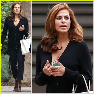 Eva Mendes Is Totally Slimmed Down in First Sighting Since Giving Birth to Esmeralda!