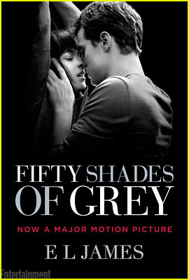 Fifty Shades of Grey Gets Steamy Hot Movie Tie-In Book Cover.
