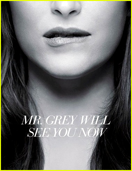 New 'Fifty Shades of Grey' Poster Has Dakota Johnson Biting Her Lip in Anticipation!