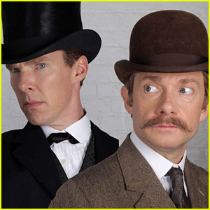 See the First Image of Benedict Cumberbatch & Martin Freeman From Sherlock's Special!