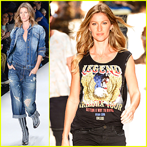 Gisele Bundchen Struts Her Stuff at Colcci Fashion Show