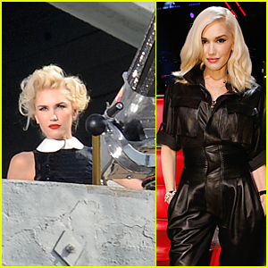 Gwen Stefani Fires a Cannon for Mastercard Commercial