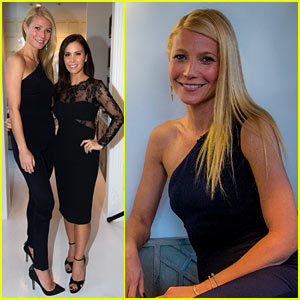 Gwyneth Paltrow Brings Chris Martin & Kids to Goop Store Opening in Dallas!