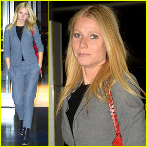 Gwyneth Paltrow Steps Out Amid All Those Chris Martin & Jennifer Lawrence Rumors