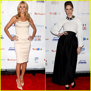 Heidi Klum Honored at the K.I.D.S./Fashion Delivers Gala!