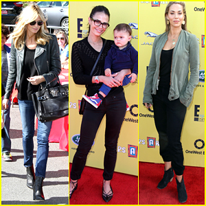 Heidi Klum & Jordana Brewster Make it a Family Affair at Express Yourself 2014