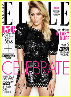 Hilary Duff Opens Up on Mike Comrie Split in 'Elle Canada' December 2014 Issue
