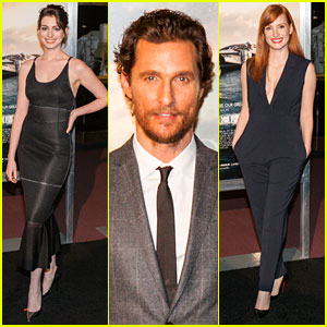 'Interstellar' Cast Takes the Film to the Nation's Capitol!