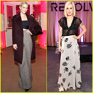 Jaime King & Rumer Willis Doll Up For Revolve Pop-Up Launch Party