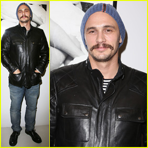 James Franco Hits Paris For His 'New Film Stills' Exhibition Opening