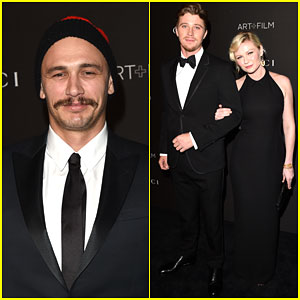 James Franco & Kirsten Dunst Show Off Their Dark Side at the LACMA Art + Film Gala