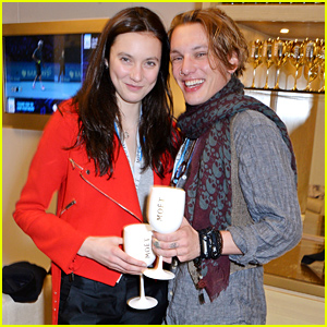Jamie Campbell Bower & Matilda Lowther Look So Cute Together at the World Tour Finals