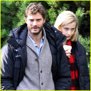 Jamie Dornan Is Filming in the Woods Again, But Not as Christian Grey!