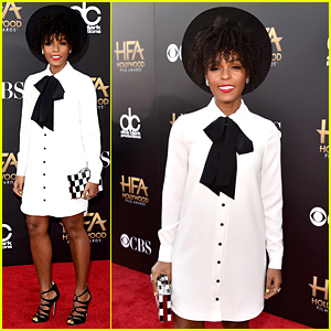 Janelle Monae is the Star Performer at Hollywood Film Awards 2014