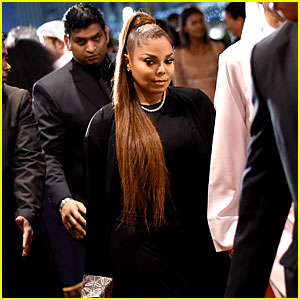 Janet Jackson Makes First Public Appearance in Over a Year!