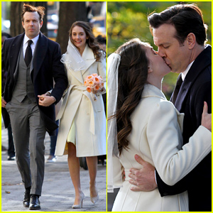 Jason Sudeikis & Alison Brie Get Married in Their Movie 'Sleeping with Other People'!