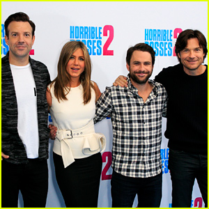 Jennifer Aniston Is Buddy Buddy with the 'Horrible Bosses 2' Guys!