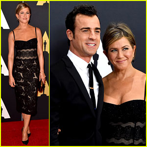 Jennifer Aniston & Justin Theroux Are the Hottest Couple at Governor's Awards 2014!