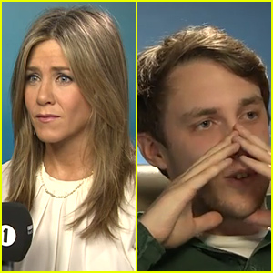 Jennifer Aniston Makes a Reporter Nearly Cry During a Prank Interview - Watch Now!