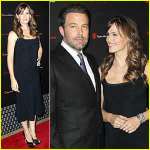 Jennifer Garner Looks Completely in Love With Ben Affleck at Save the Children Illumination Gala 2014