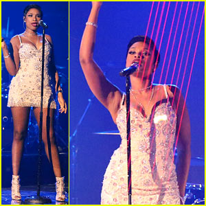 Jennifer Hudson Goes All Night for 'DWTS' Finale Performance!