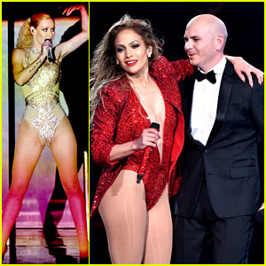 Jennifer Lopez & Iggy Azalea Slay with 'Booty' Performance at AMAs 2014! (Video)