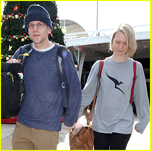Jesse Eisenberg Leads the Way in Girlfriend Mia Wasikowska's Home Country