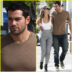 Jesse Metcalfe Gets Ready for the Big Hollywood Domino Event
