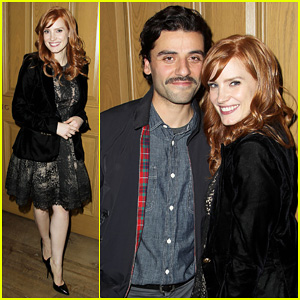 Jessica Chastain & Oscar Isaac Open Up About Bad Auditions for 'A Most Violent Year' - Watch The SAG Q&A Here!